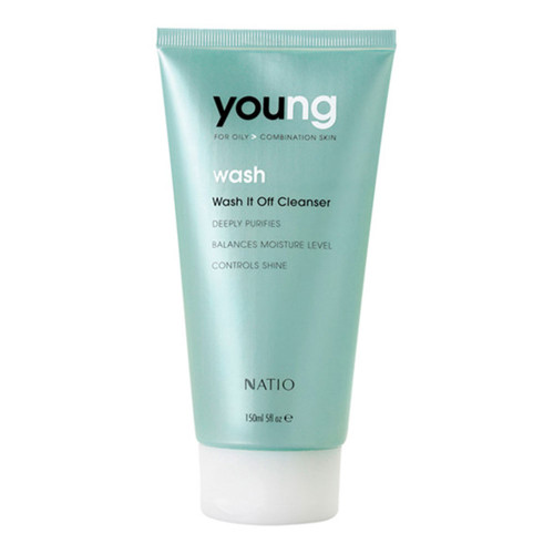 Natio Young Wash It Off Cleanser 150ml