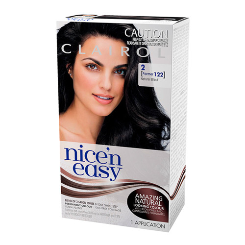 Clairol Nice 'N Easy Hair Colour - 2 Natural Black