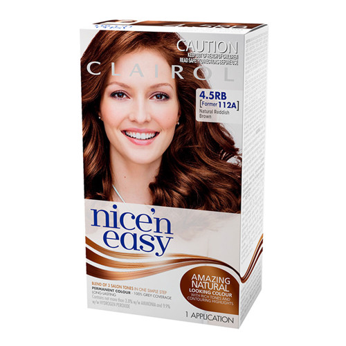 Clairol Nice 'N Easy Hair Colour - 4.5RB Natural Reddish Brown