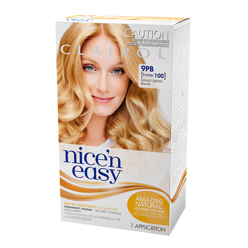 Clairol Nice 'N Easy Hair Colour - 9PB Natural Lightest Blonde
