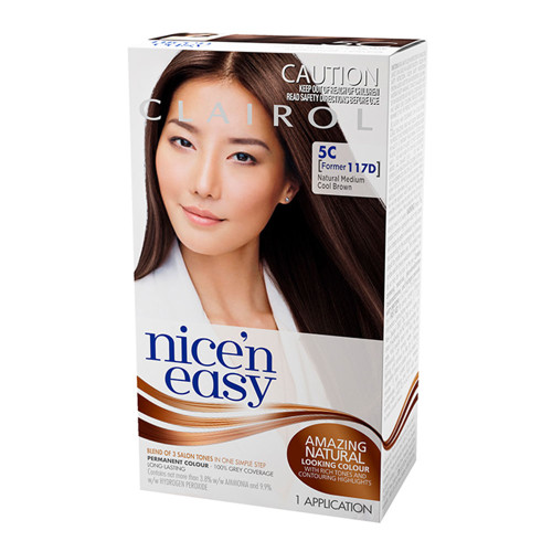 Clairol Nice 'N Easy Hair Colour - 5C Natural Medium Cool Brown
