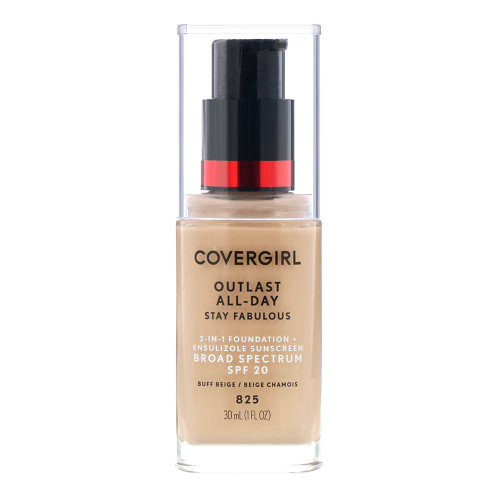 COVERGIRL Outlast All Day Stay Fabulous Foundation - 825 Buff Beige