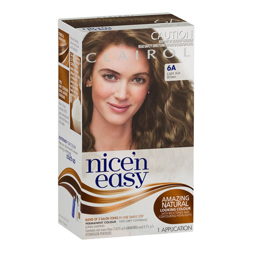 Clairol Nice 'N Easy Hair Colour - 6A Natural Light Ash Brown