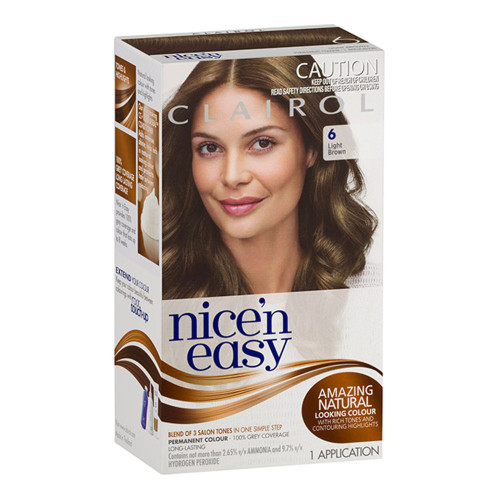 Clairol Nice 'N Easy Hair Colour - 6 Natural Light Brown