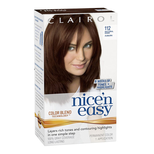 Clairol Nice 'N Easy Hair Colour - 4R Natural Dark Auburn