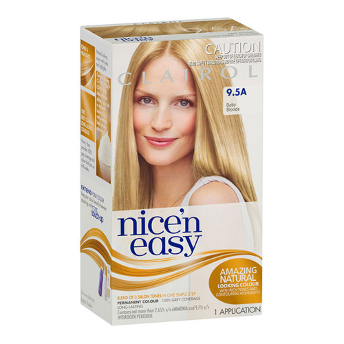 Clairol Nice 'N Easy Hair Colour - 9.5A Natural Baby Blonde