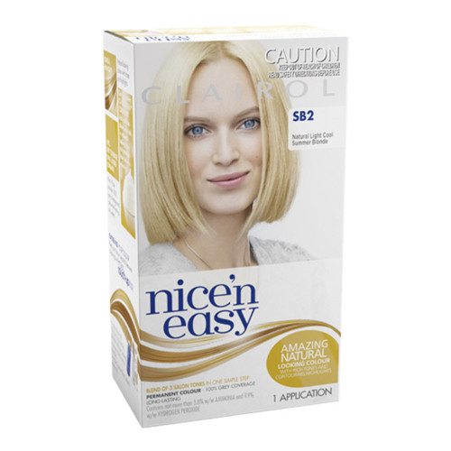 Clairol Nice 'N Easy Hair Colour - SB2 Natural Light Cool Summer Blonde