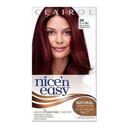 Clairol Nice 'N Easy Hair Colour - 5M Medium Mahogany Brown
