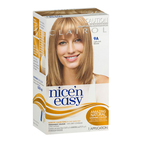 Clairol Nice 'N Easy Hair Colour - 9A Natural Light Ash Blonde