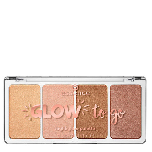 essence Glow to Go Highlighter Palette - 10 Sunkissed Glow