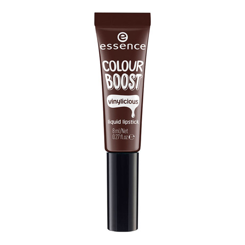essence Colour Boost Vinylicious Lipstick - 10 I'm Dark, I'm Back