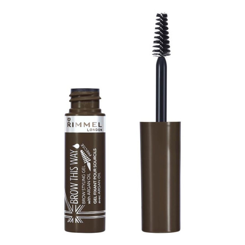 Rimmel Brow This Way Eyebrow Gel - 002 Medium Brown
