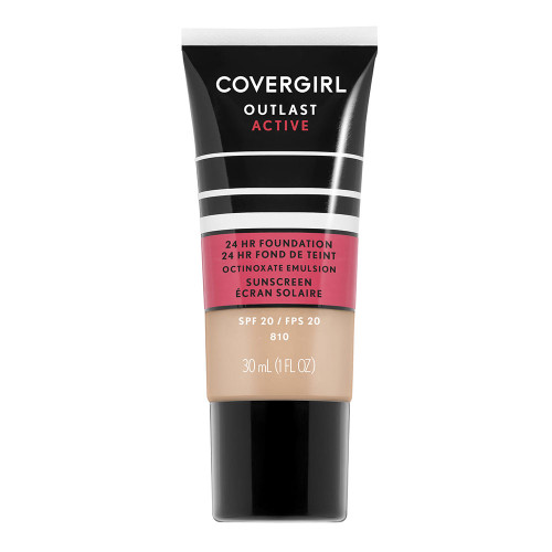 COVERGIRL Outlast Active Foundation - 810 Classic Ivory
