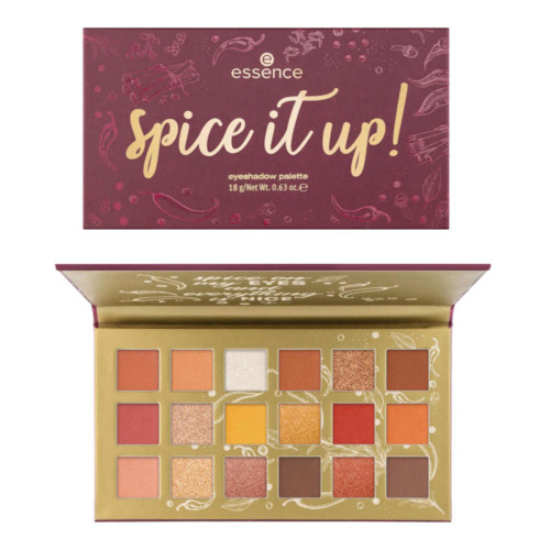 essence Spice It Up Eyeshadow Palette - 01 Spice Up Your Eyes