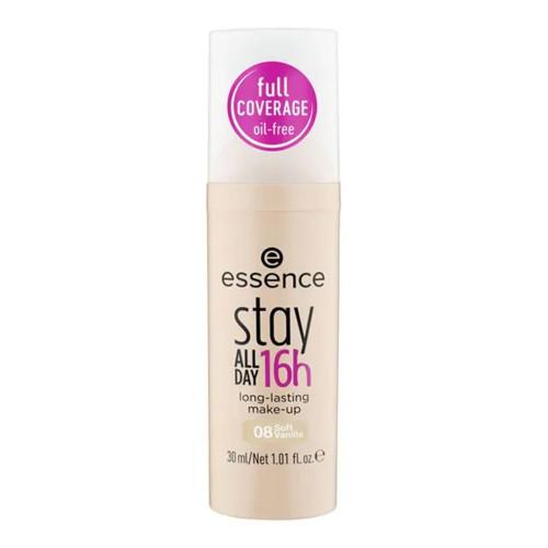 essence Stay All Day 16h Waterproof Foundation - 08 Soft Vanilla