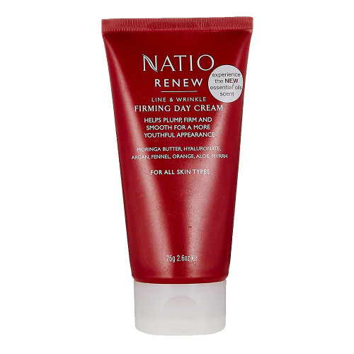 Natio Renew Line & Wrinkle Firming Day Cream 75g