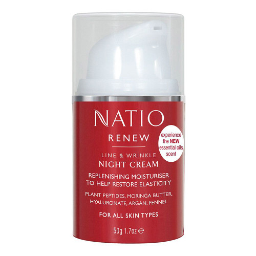 Natio Renew Line & Wrinkle Night Cream 50g