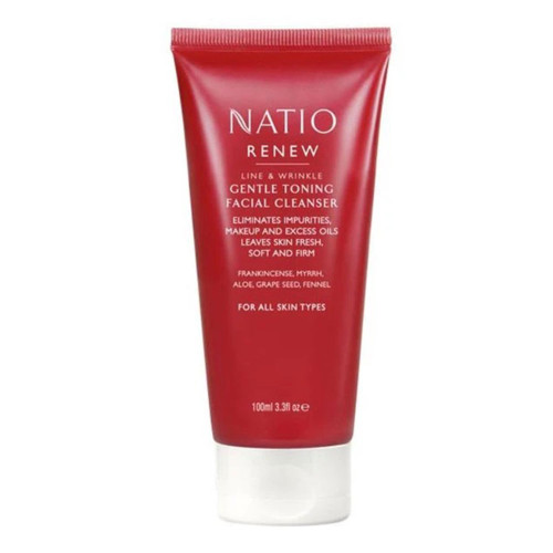 Natio Renew Gentle Toning Facial Cleanser