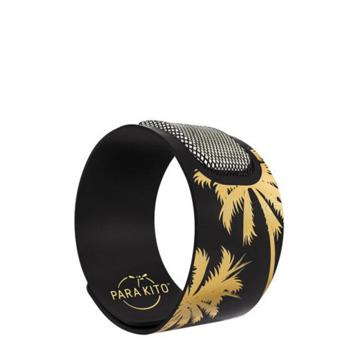 Para'Kito Party Mosquito Repellent Band - Black Palm Tree