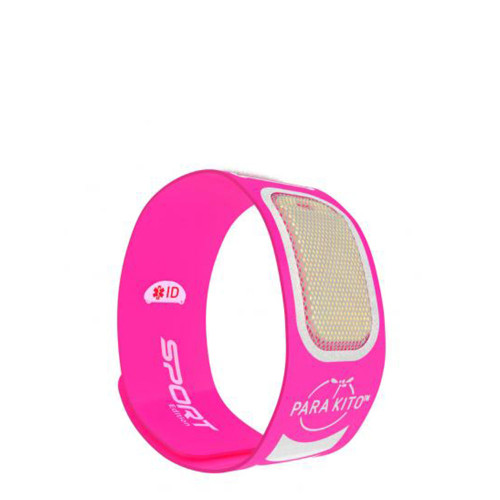 Para'Kito Sports Mosquito Repellent Band - Fluro Pink