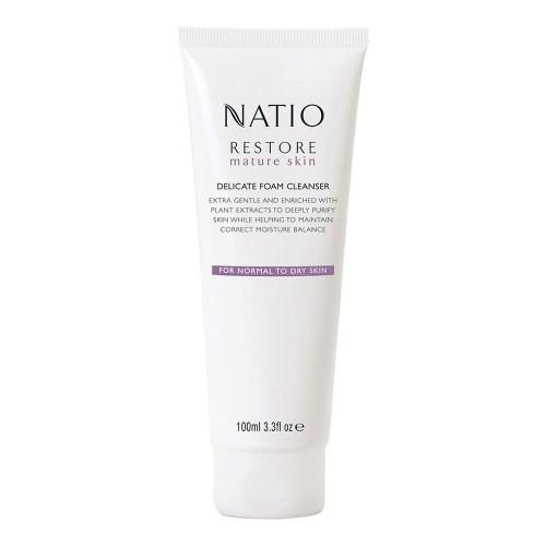Natio Restore Delicate Foam Cleanser 100g
