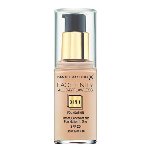 Max Factor Face Finity 3in1 Foundation - 40 Light Ivory
