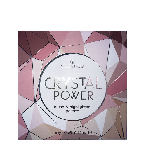 essence Crystal Power Blush & Highlighter Palette Cover