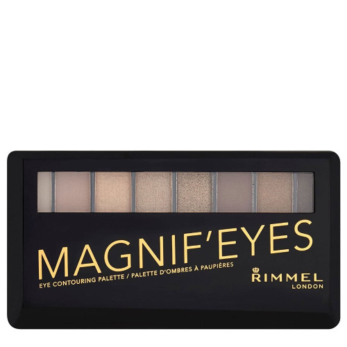 Rimmel Magnif-eyes Eyeshadow Contouring Palette - 001 Keep Calm & Wear Gold