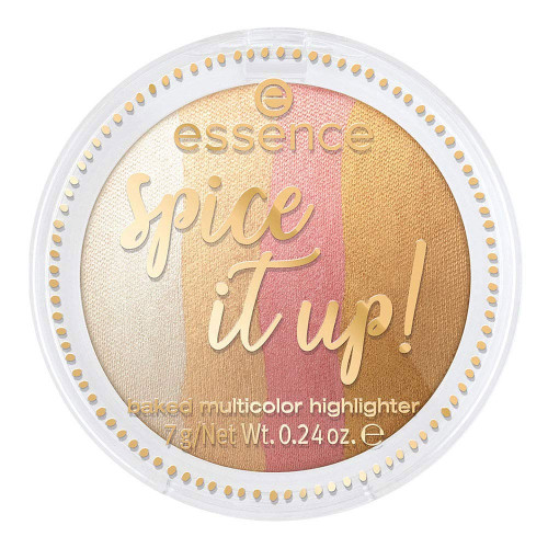 essence Spice it up! Baked Multicolour Highlighter - 01 More is More