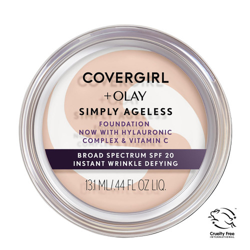 COVERGIRL + Olay Simply Ageless Foundation - 210 Classic Ivory