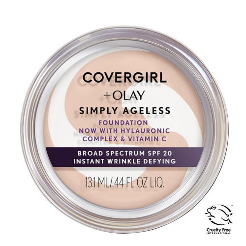 COVERGIRL + Olay Simply Ageless Foundation - 220 Creamy Natural