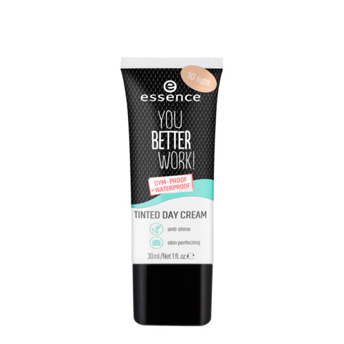 essence You Better Work! Tinted Day Cream - 10 Light