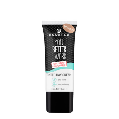 essence You Better Work! Tinted Day Cream - 20 Medium