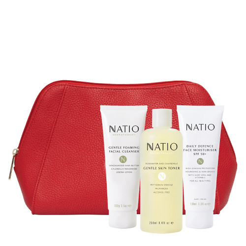 Natio Red Gum Set