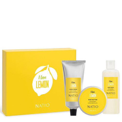 Natio I Love Lemon Set