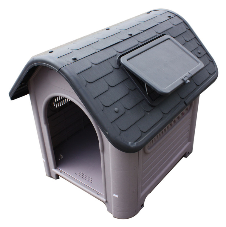 Large Dog Kennel with Vent