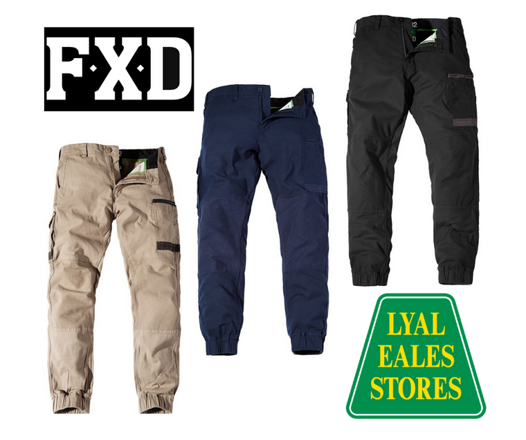 WP-4 - FXD Stretch Cuffed Pants