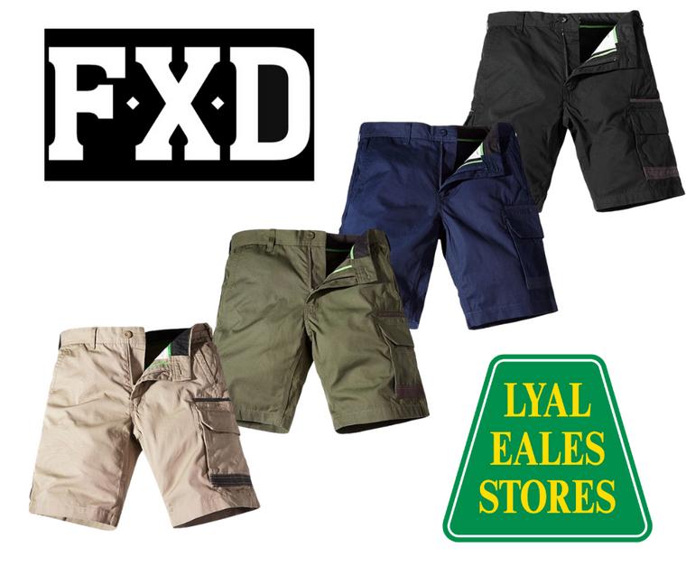 WS-1 FXD Cargo Shorts
