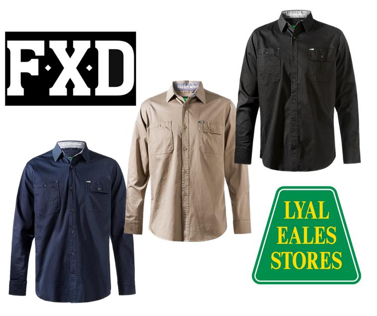 LSH-1 - FXD Long Sleeved Work Shirt