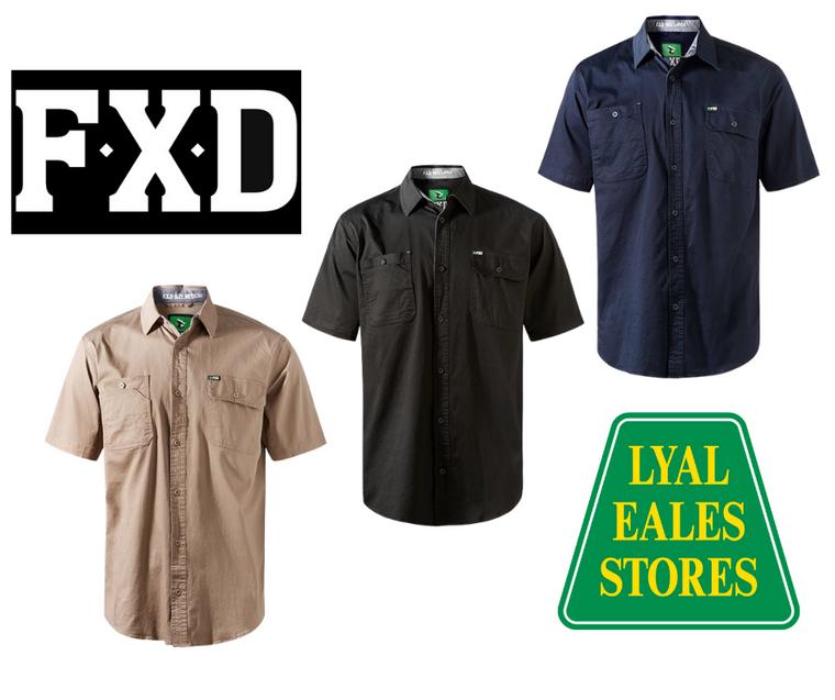 SSH-1 - FXD Short Sleeved Work Shirt