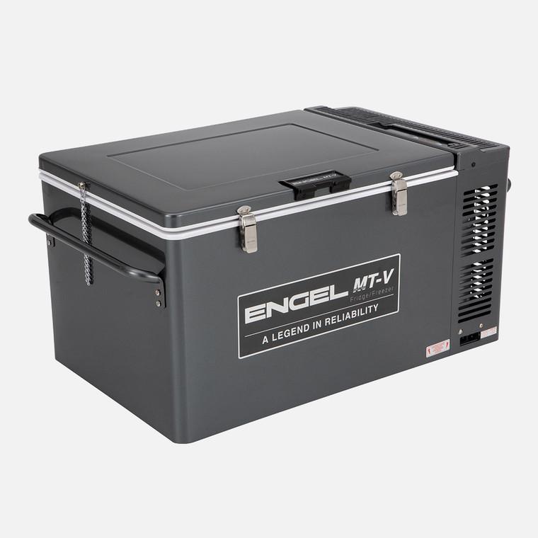 60 Litre, Gunmetal, 12/24V DC (4.2/2.1A) & 240V AC, 33kg