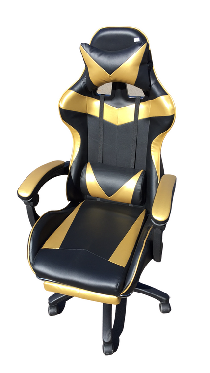 GAMING OFFICE CHAIR - GOLD
