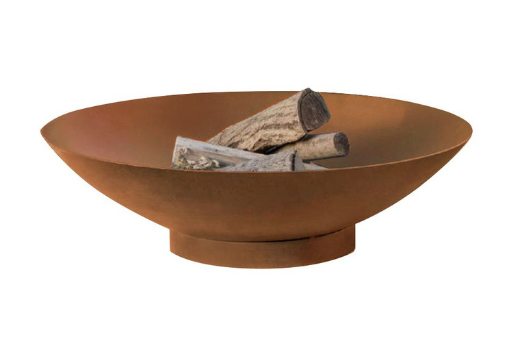Steel rust Colour Fire Pit 45cm 1.2mm Thickness