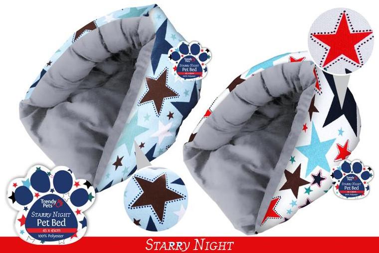 1Pce Pet Pod 45cm x 45cm x26cm Starry Night