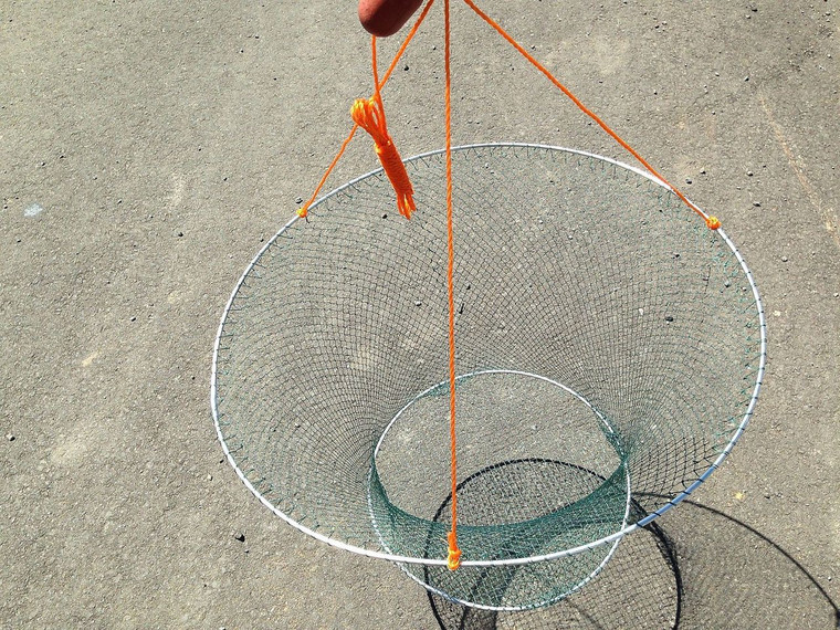 Pack OF 4 Drop NET Yabbie NET With 2 Rings