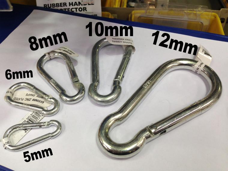 6mm Zinc  Plated Snap Hook