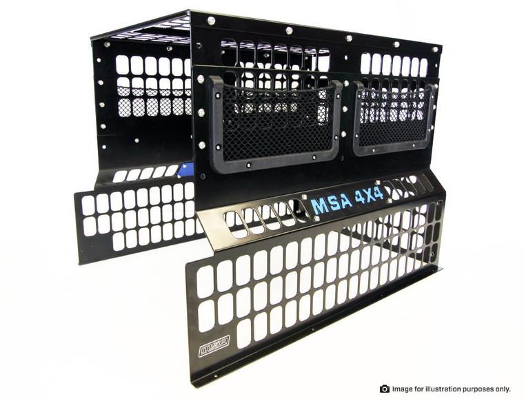 MSA 4X4 FRIDGE BARRIER TO SUIT SL40 STRAIGHT SLIDE - FBSL40N