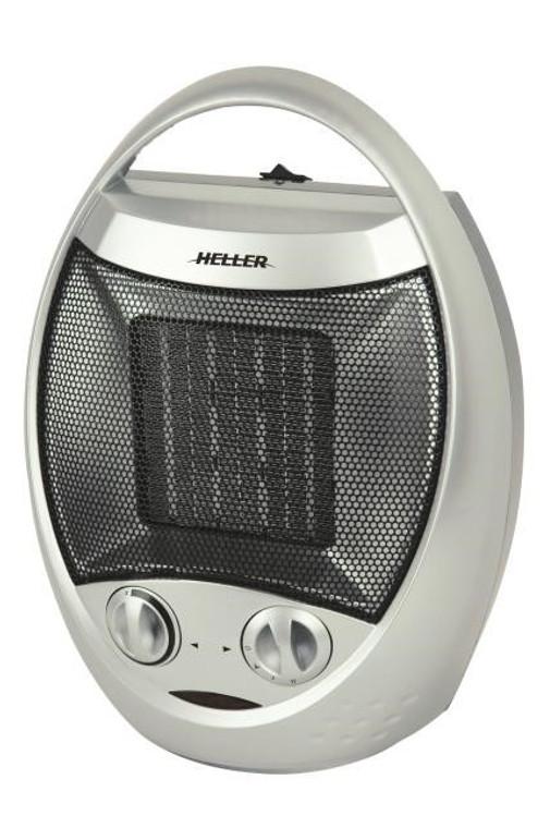 HELLER  Ceramic Oscillating Fan Heater 1500W