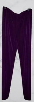 Purple Knit Wide Leg