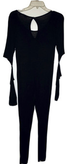 Black Cut Out Jump Suit